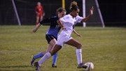 Jordin Mosely looks to make a play. Mosley's goal in the second half gave the Lady Pride a cushion. Photo Courtesy: Emma Sheppard