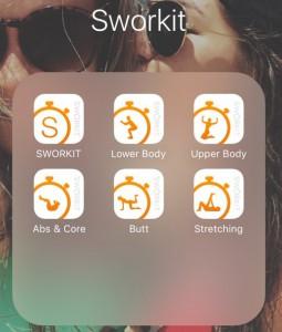 sworkit app pics