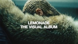 The album cover for Lemonade features a side shot of Beyonce with blonde cornrows, a now iconic shot. There are 12 songs in total.