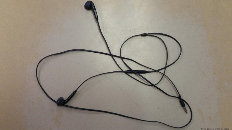 A pair of earbuds. For some, this daily item will cause massive hearing loss and tinnitus years down the line.