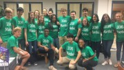 The Junior Marshals for the class of 2017 are featured in the above photo. At Leesville, Eric Greene, Dean of Students, coordinates the Junior Marshals. (Photo used by permission of Eric Greene)