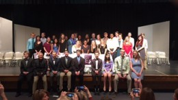 National Technical Honors Society members were inducted earlier this year in March. The last meeting of the year was held May 13.
