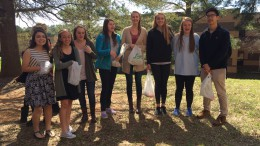 During the 2015-2016 school year, Spanish Club held its first annual Easter egg hunt. Many returning club members look forward to new traditions, like the Easter egg hunt, and forming new bonds as the year begins. Photo Courtesy: Lauren McNamara