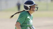 Becca Jones has been playing softball since she was six years old. Now a junior in high school, she has made it to the top 40 athletes of the Canadian Junior Women's National Team tryouts, which may give her a chance to attend Tokyo's 2020 Olympics.  Courtesy of the News and Observer