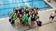 With last years success behind them, the Leesville swim team goes into this season with high expectations. Coach Rogers and Coach Civitello will remain coaches as they have been for the past three years. (Photo used by permission of Ashlyn Walton)