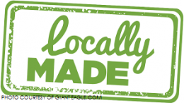 Numerous clothing products are locally made in North Carolina. Purchasing locally made items benefits the economy and the environment.