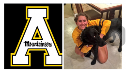 Mogie Adamchik postedt her commitment to Appalachian State University on Twitter. As one could tell by the numerous likes and retweets, the entire Leesville community is proud of her accomplishments. (Screenshot of Adamchik's Twitter)