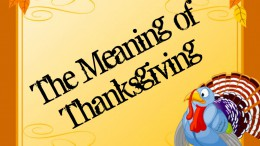 Some Leesville students say that the meaning of Thanksgiving is to spend time with family. Over the years, with the help of Black Friday and Media, Thanksgiving is not what it used to be. Photo courtesy of Sarah Stoflet via PiZap.