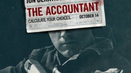 The official The Accountant movie poster. The Accountant has had mixed reviews from viewers and critics but has been praised for its action and suspense.