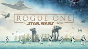 Above is part of the poster for the new Star Wars Anthology film, Rogue One. Rogue One's plot revolves around the rebellion and how they steal the plans to blow up the Death Star.