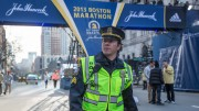 In Patriots Day, Mark Wahlberg plays a Boston police officer who assists in the investigation of the 2013 Boston Marathon bombings. Wahlberg, a Boston native, succeeds in showing the both the professional and emotionally tumultuous side of Boston-area police officers at the time of the attacks.