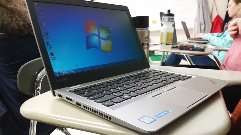 Leesville now has new laptops for students to use during classes. The new ThinkPad Ultrabook laptops are a significant upgrade to the classroom.