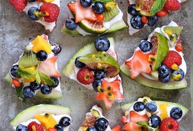 A popular New Year's resolution is healthier eating habits. Many are trying ordinary food made entirely from fruits, vegetables and other healthy ingredients. (Photo Courtesy Instagram: healthy)