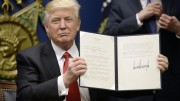 President Donald Trump announced Executive Order 17369 on January 27, which stopped the immigration of visa-holders and refugees from seven Middle Eastern countries. This has created controversy over the powers of the president compared to the courts.