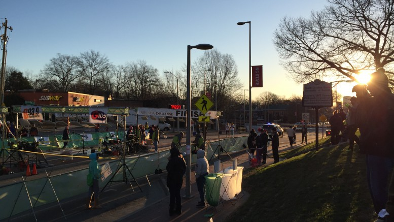 The Krispy Kreme Challenge was originally started by NC State Students twelve years ago. Now, the K2C is run solely by students at the university. Photo courtesy of Isabel Daumen.