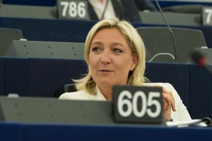 Marine Le Pen. (Photo courtesy of Olaf Kosinsky)