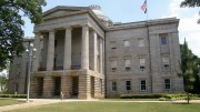 The North Carolina State capitol is the site of many protests against state and federal legislatures. The failure of Thom Tillis and Richard Burr to host town halls on their week off has sparked a large amount of backlash. Photo Courtesy of Wikimedia Commons.