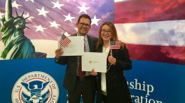 In the past decade, there was about 700,000 new naturalized citizens per year. That's a new US citizen approximately every 79 seconds.