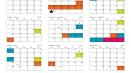 The current 2016-17 Wake County traditional school calendar does not include a fall break. Studies have shown that fall breaks help benefit the mental health of students. (Calendar courtesy of wcpss.net)