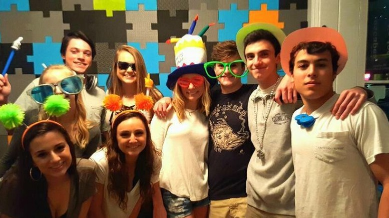After completing the escape room, the staff gives you an opportunity to take some silly pictures with your group. Each group is given a maximum of one hour to escape the room. (Photo Courtesy of Cayley Kennedy)