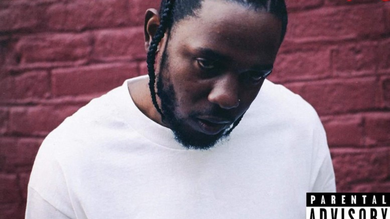 On the cover of his latest album, a dejected Lamar looks at an angle towards the viewer. The title, DAMN. above his head conveys the emotions he seems to struggle with. (Photo courtesy of Hypebeast.com)