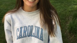 Grace Countie is a school record holder in multiple swimming events who just committed to UNC Chapel Hill. (Photo used by permission of Jill Countie.)