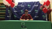 Nathan Gamble committed to run for the University of Alabama on April 24. (Photo courtesy of the Gamble family)