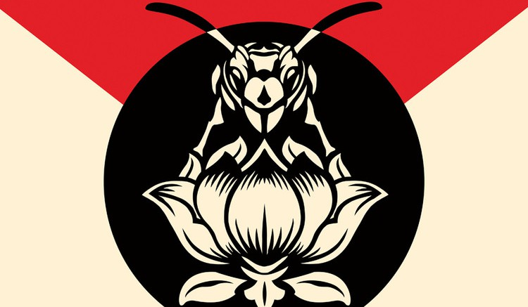 Pictured is the album art for Blondie's Pollinator, released May 5th. It's their first since 2014's Ghosts of Download. (Photo Credit to BMG)