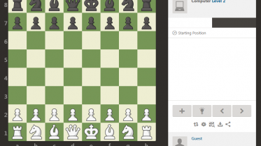Chess.Com, a simple website that allows people to practice chess against a computer, with difficulty of their choosing. Perfect for particularly long-winded and dull lectures while still being mildly productive, in a way. (Photo Credit to Chess.Com)