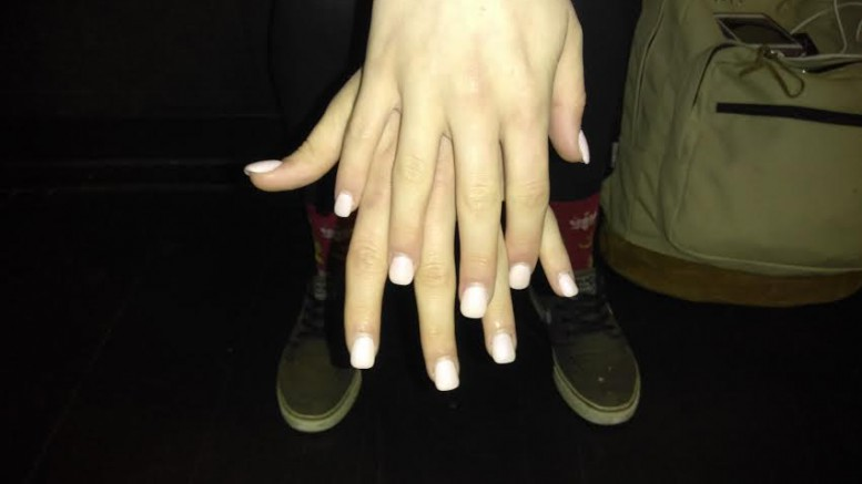 Acrylic nails have become a huge  trend among teens and young women. Like everything else, there is a good and bad side to acrylic nails. (Photo Courtesy Kyla Stone Houza)