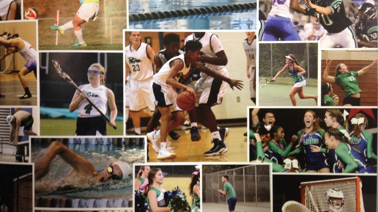 The Leesville athletic program dominated  conference play across all sports, earning a combined seven CAP-8 championships. Many individual athletes put on incredible performances to lead their teams  to victory. (Photo courtesy of The Menagerie)
