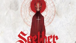"Above is the album cover for Seether's latest album, ""Poison the Parish"". This is the band's seventh full-length studio album and was produced by the lead singer, Shaun Morgan."