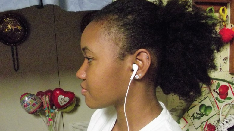 Natural hair can be difficult to handle. However, over time taking care of it gets easier. (Briana Stone-Houze)
