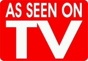 """""""As Seen On TV"""" have been around for a long time. Although commercials demonstrate the products worth, are they really accurate portrayals? (Photo courtesy of Creative Commons)"""