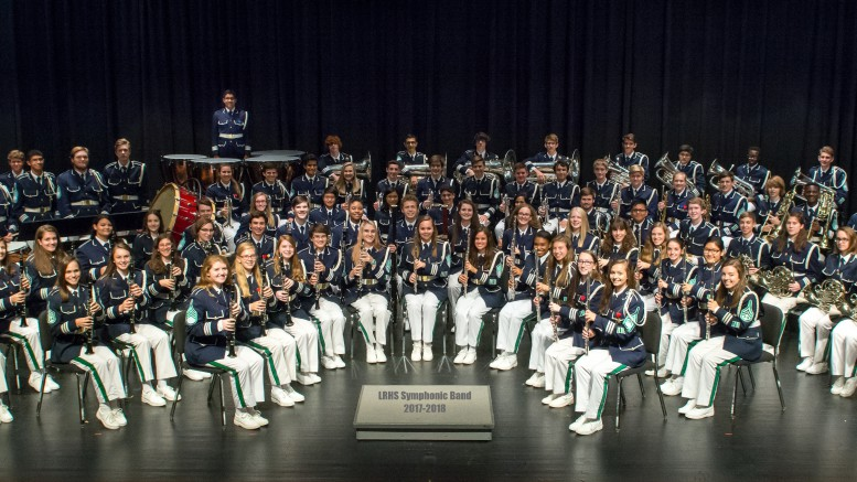 The LRHS symphonic band has a large variety of instruments that come together to make Leesville on of the best bands in the state of North Carolina. When on the field the band incorporates movement to their music that makes their performances even more intriguing. (photo used by permission of  of Leesville Band)