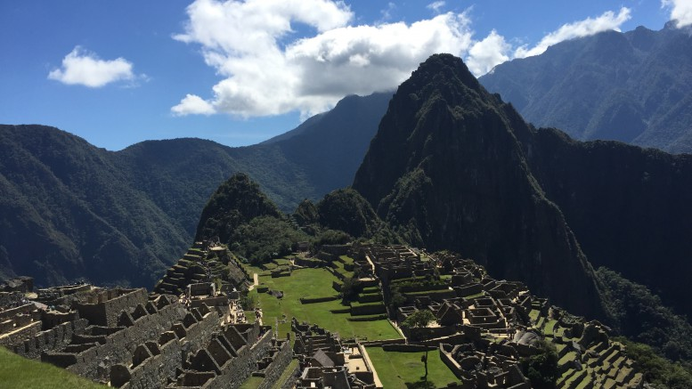 This past summer, a group of Leesville Road High School students and teachers traveled to Peru and visited Machu Picchu, pictured above.  Machu Picchu, one of the Seven Wonders of the World, is the site of ancient Incan ruins in the Andes Mountains.  (Photo used by permission of Isabel Daumen)