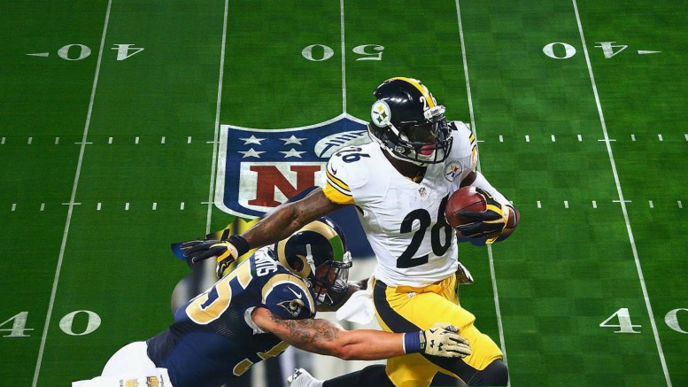 Le'Veon Bell has dominated his opponents as the 2017 season is in full swing. Bell is the second leading rusher in the NFL this season. (Photo courtesy of Matt Wiener)