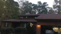 The house of Matt Wiener, a sophomore at Leesville Road High School. This is an average house model in the north Raleigh suburban community. (Photo used by permission of Matt Wiener)