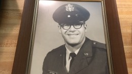 A photo taken of Hoffman as he just entered service in September 1964. He served four years as an Intelligence Officer. (Photo courtesy of Matt Wiener)