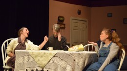 """""""Dearly Departed"""" is one of the fall plays that the Leesville Theatre Department performed this year. Both the cast and the crew worked tirelessly in order to make sure the production was a success.  (Photo used by permission of Erin Darnell)"""
