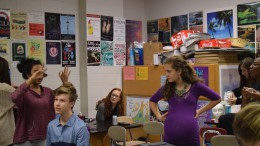 """The underclassman show, also known as """"Oh Baby!"""" was put on by the freshmen and sophomores of Leesville's Theatre Department. Since auditions in August, the cast has rehearsed incredibly hard almost every day after school. Photo Courtesy of Erin Darnell"""
