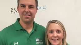 The Teacher of the Year Award is given out annually to one outstanding teacher at Leesville. The winners at each individual WCPSS school go on to compete in the county-wide Teacher of the Year contest. (Photo used with permission of Megan Self)