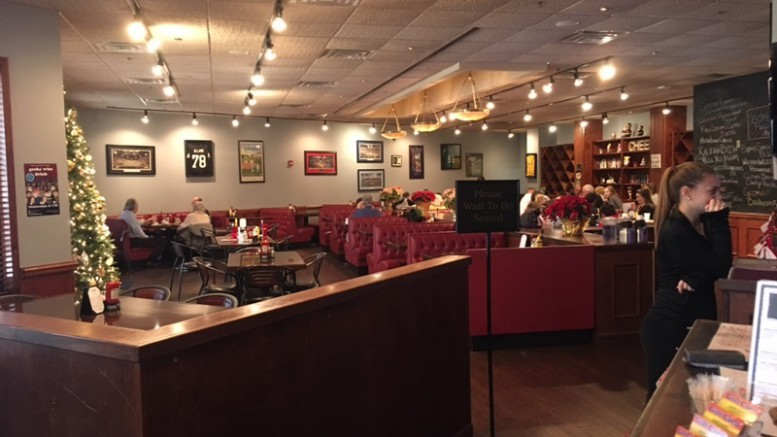 The Taproom is a family-favorite restaurant that has almost any food group one can imagine! The friendly staff and eye-pleasing decor are only part of what makes this restaurant my family's favorite place to go.  (Photo Courtesy photo used with permission of Emily Booth)