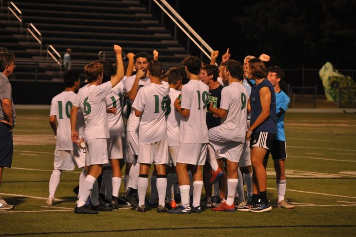 Epic Soccer Win against rival Cardinal Gibbons