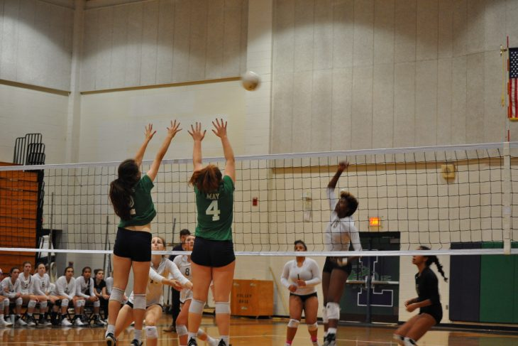 Leesville VS Broughton volleyball games end in defeat for the Pride