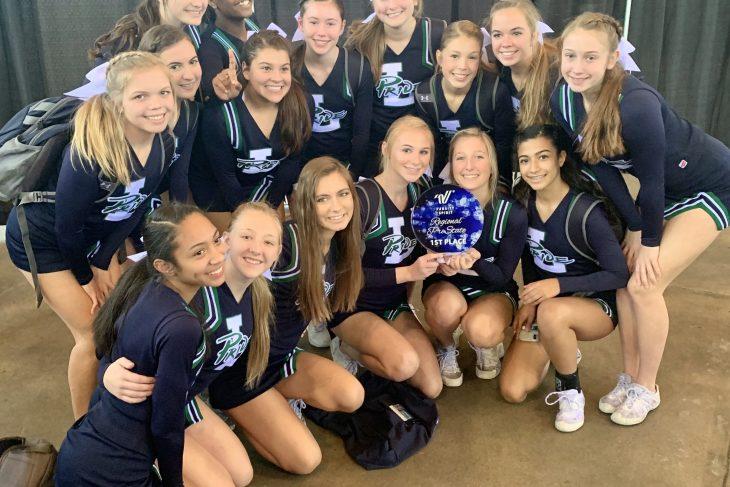 JV Cheer Wins Pre-State Regionals