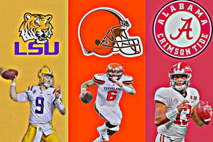 Are the offenses of LSU and Alabama better than the Cleveland Browns?