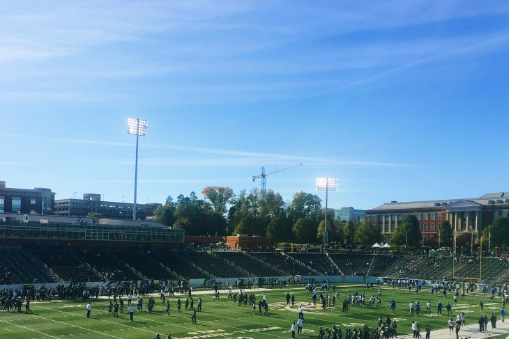 My First College Football Experience