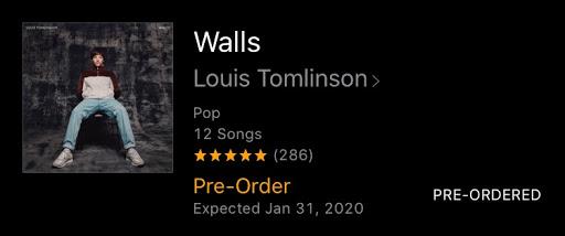 Louis Tomlinson's <i>Walls </Album Review