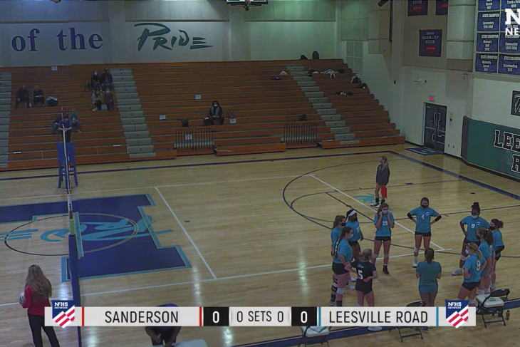 Varsity Volleyball Loses to Sanderson